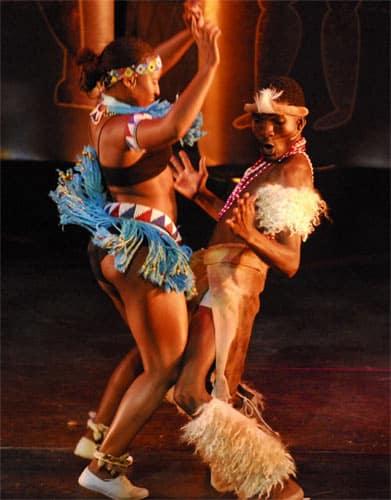 traditionele Afrikaanse dansers