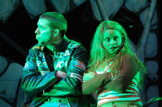 Linda Wagenmakers & William Spaay in groen licht