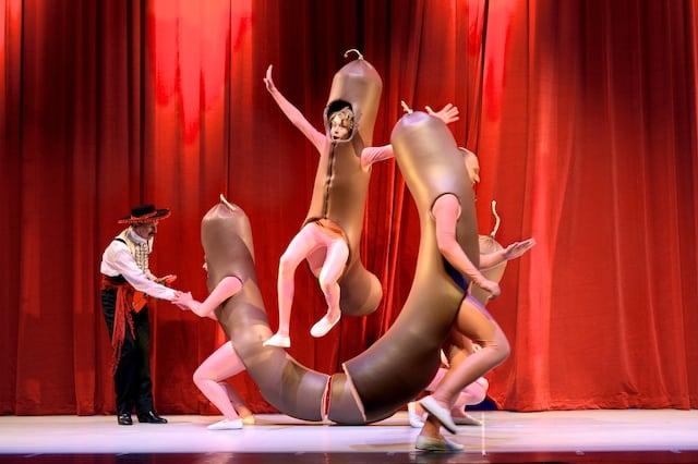 Hema, de musical dansende worsten