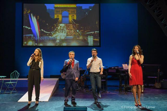 Vive la France, Cast Champs Elysees