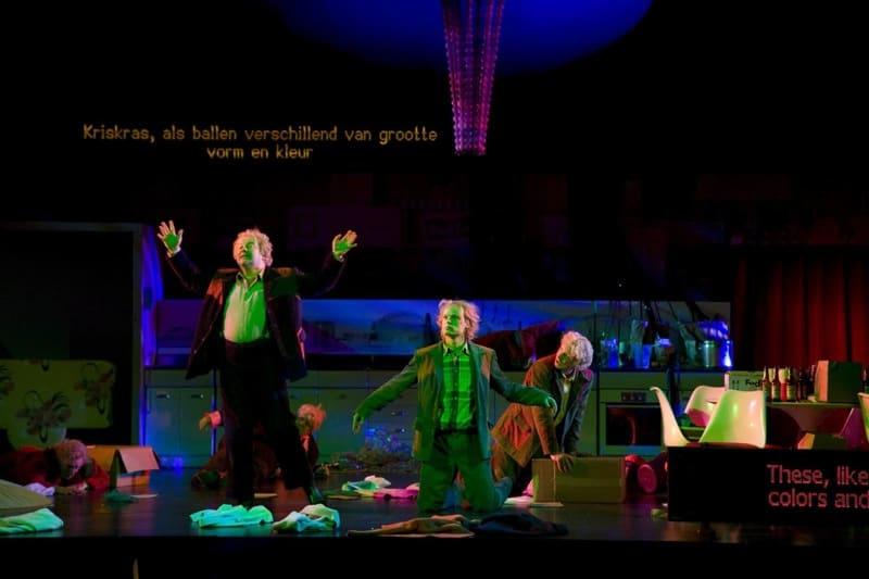 Snow White Opera psychodelisch licht
