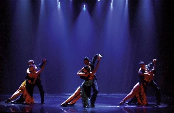 Tango dansers Copacabana