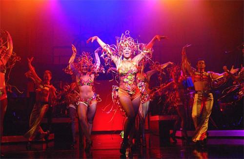 Sophia Wezer en Copacabana dansers