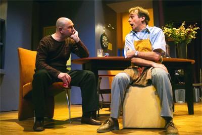 the odd couple, Peter Lusse en Cees Geel maken ruzie